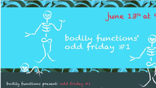 odd friday #_1 q